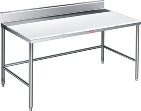 stainless steel work tables stainless cutting tables stainless table with backsplash stainless table